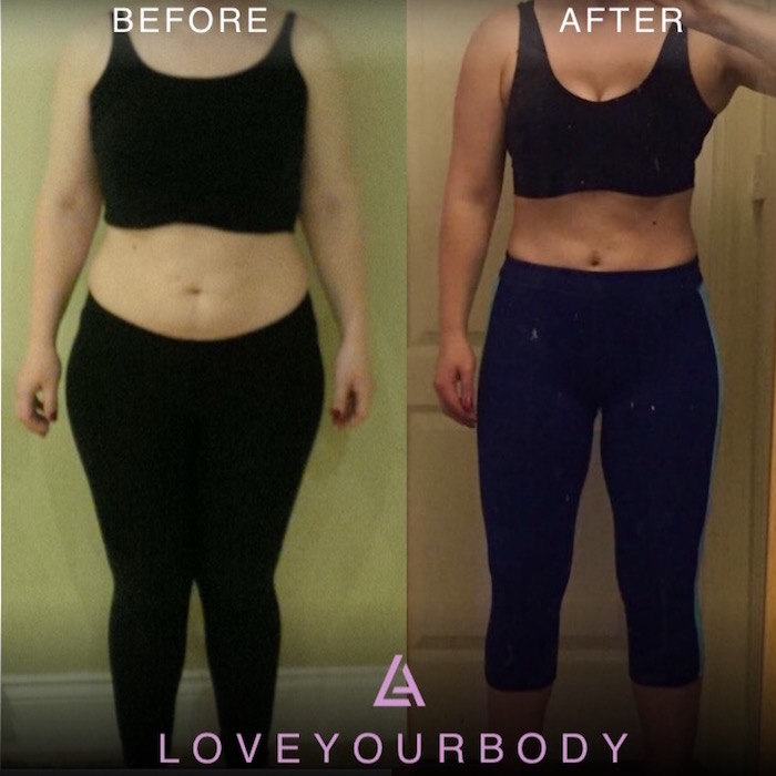 libby alice fitness claire transformation